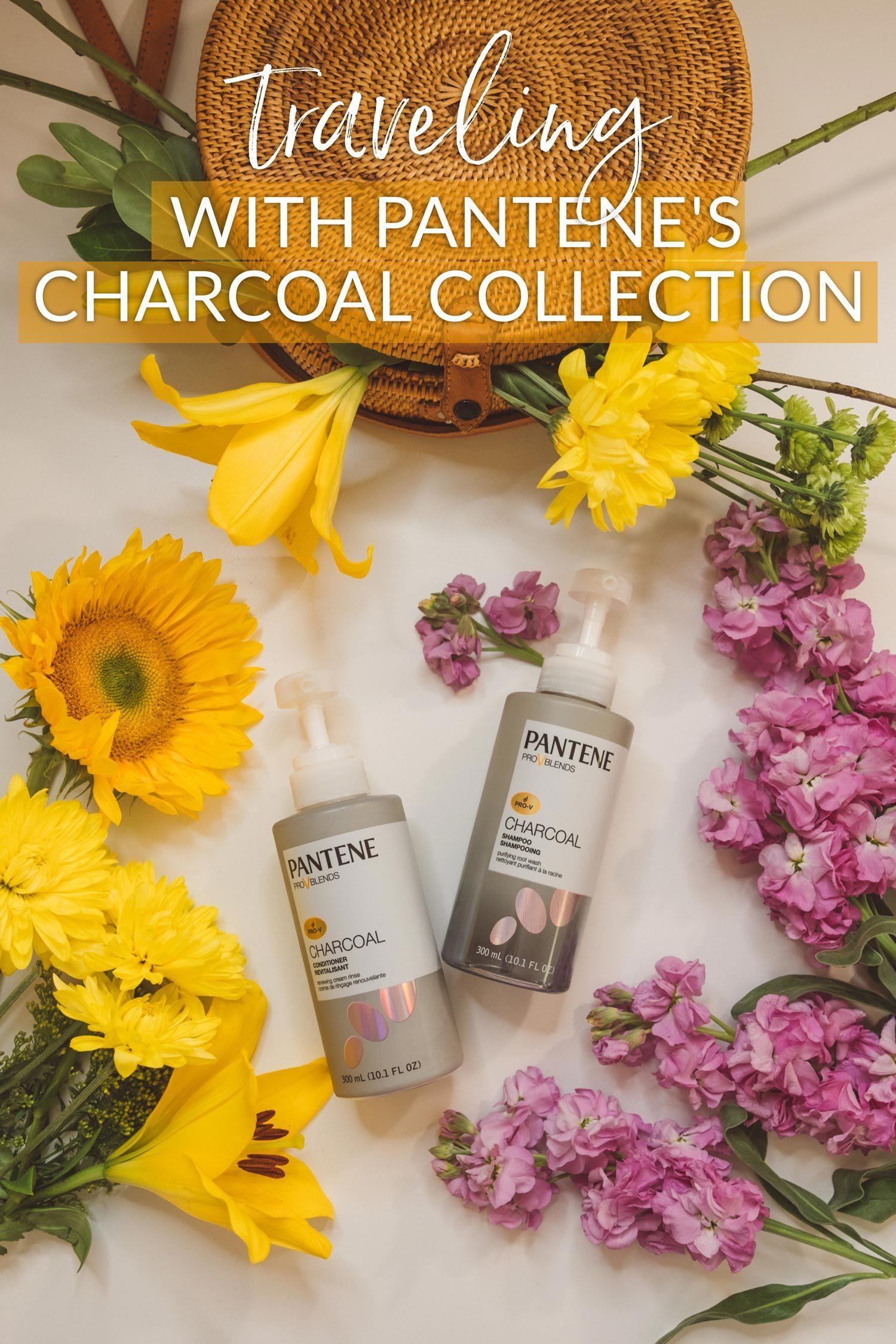Traveling with Pantene's Charcoal Collection
