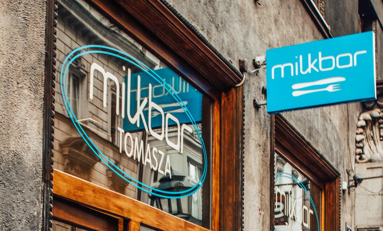 Milkbar in Krakow