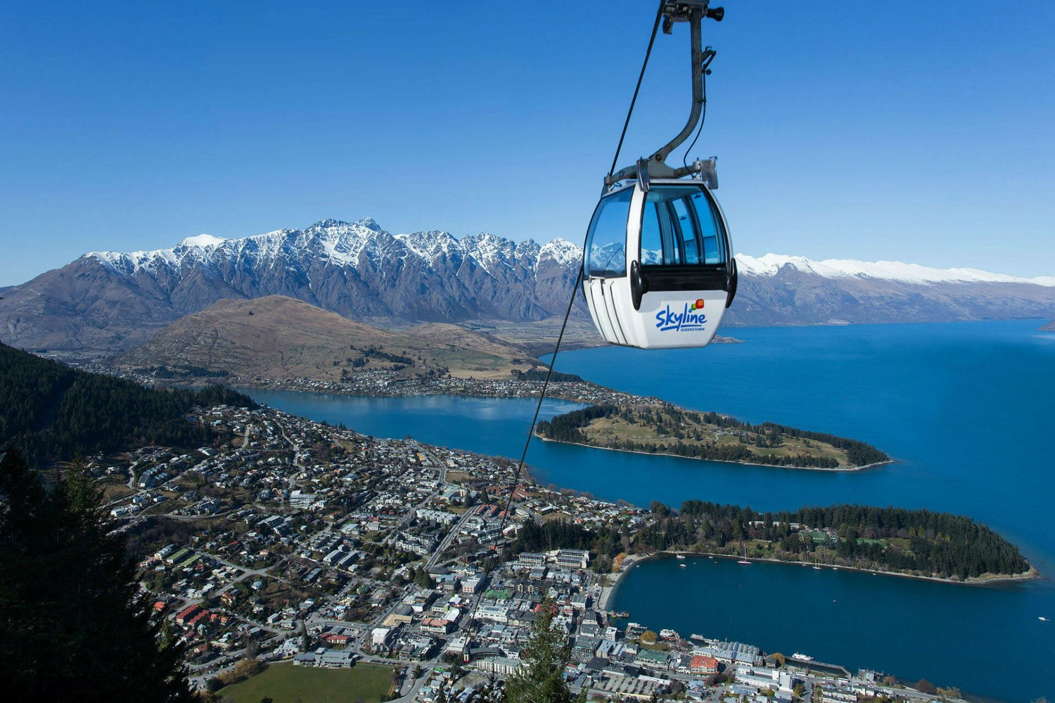 Gondola in Queenstown