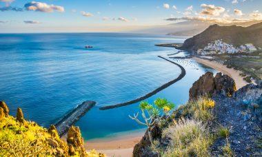 Tenerife in october America beach