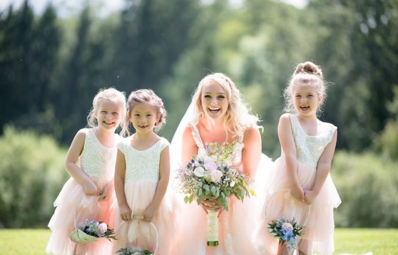 1790b44efae Finding the Perfect Dress for Your Flower Girl - Pink Is The New Blog