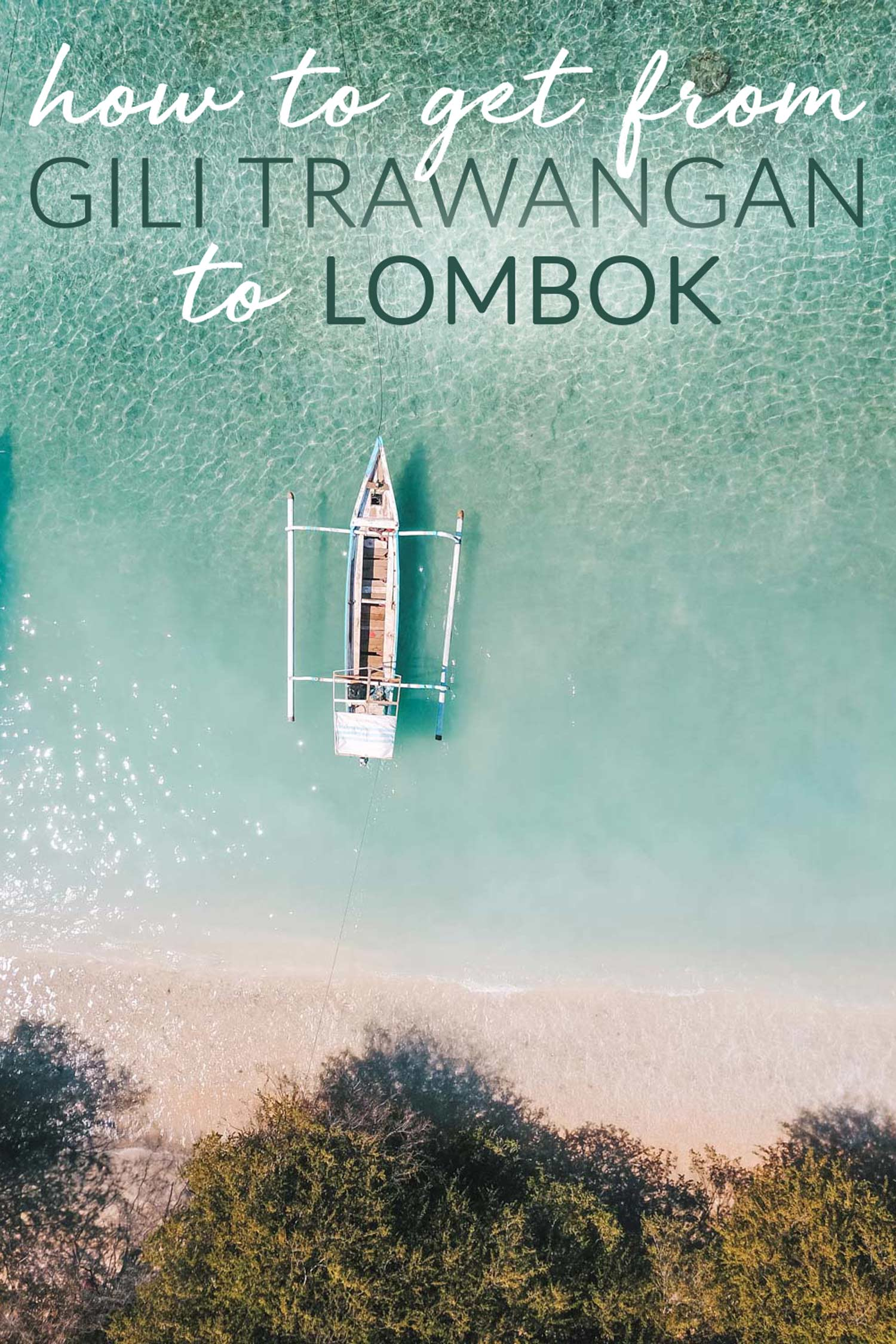How to Get From Gili Trawangan to Lombok
