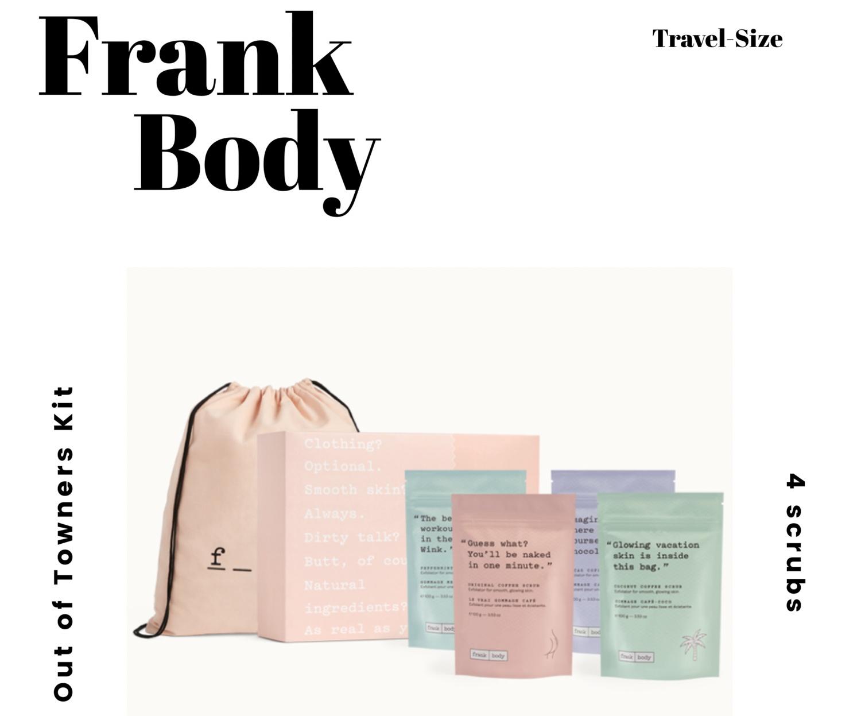 Frank Body Travel Kit