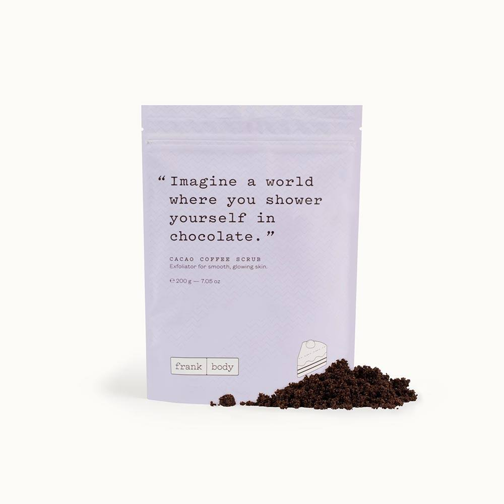 Frankbody Cacao Coffee Scrub