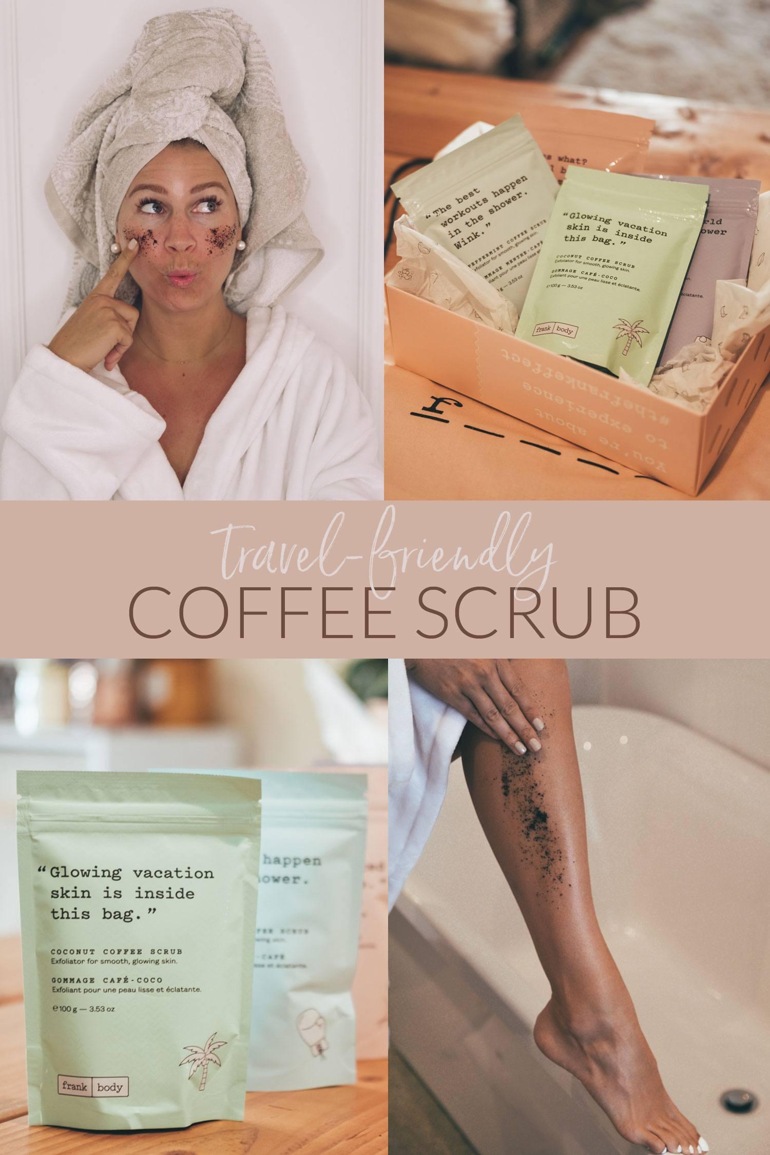 FrankBody Coffee Scrub