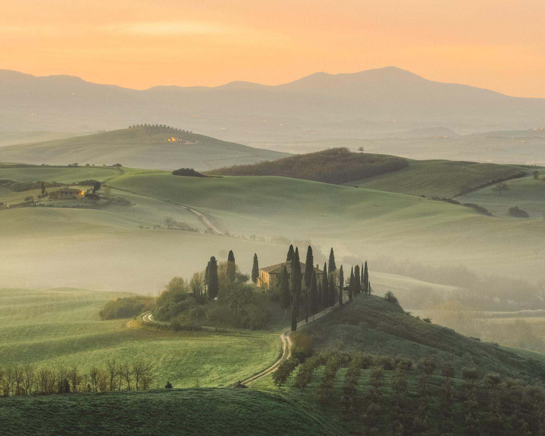wine farm in tuscany
