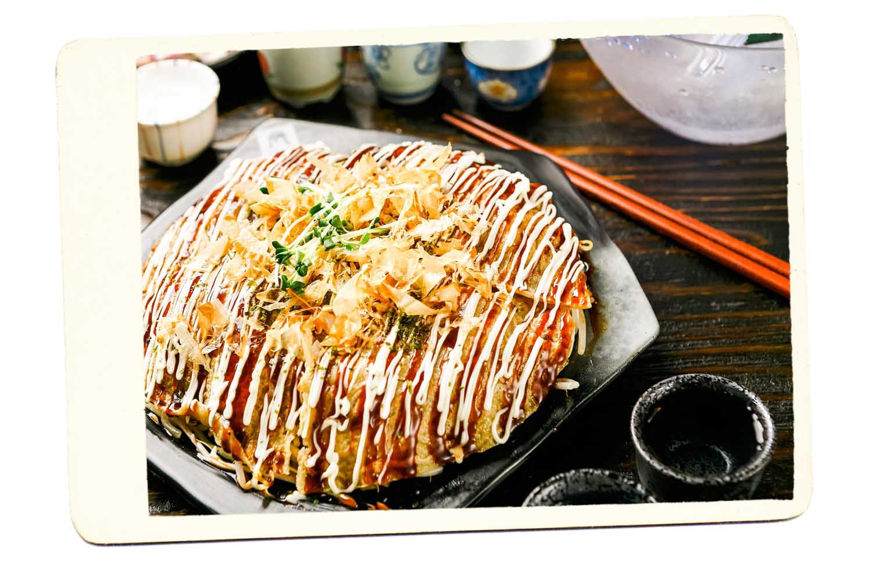 okonamiyaki - japan food