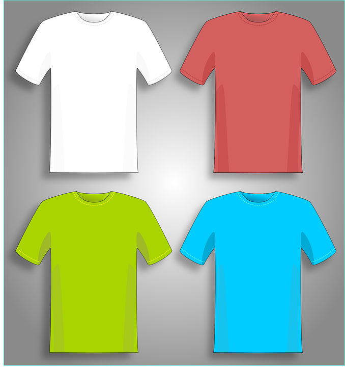 Tee-shirt colours