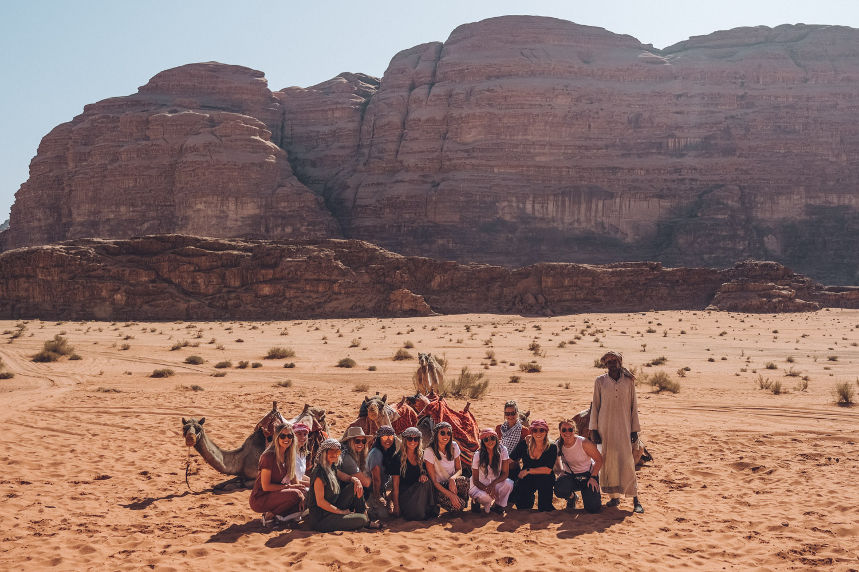Group Tour in Wadi Rum