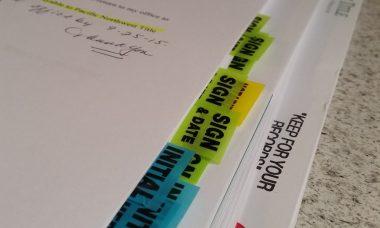 Real Estate Closing Paperwork