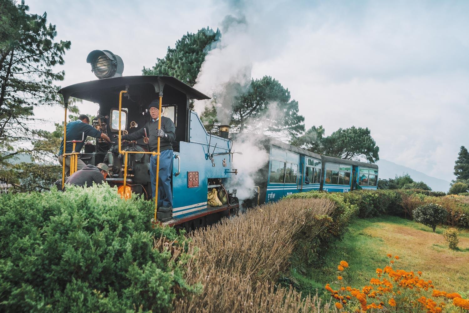 train darjeeeling india