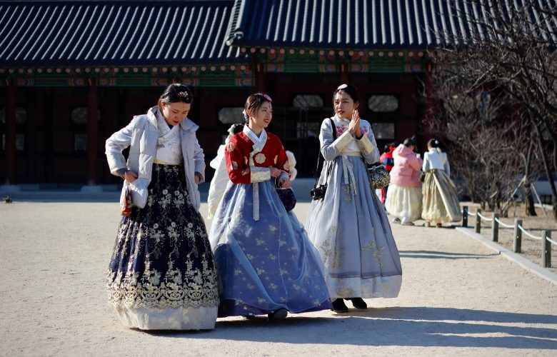 Hanbok dresses