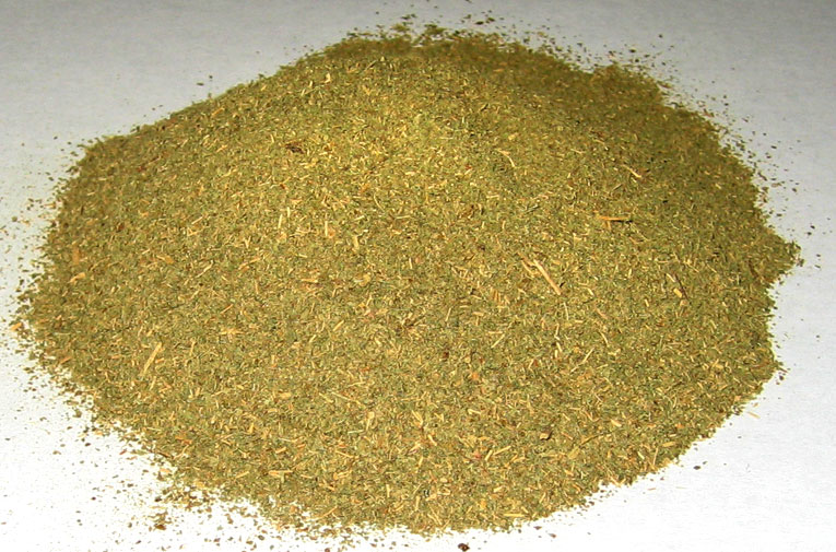 Powdered kratom