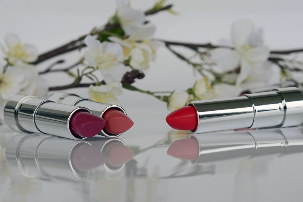 Try a new shade of lipstick
