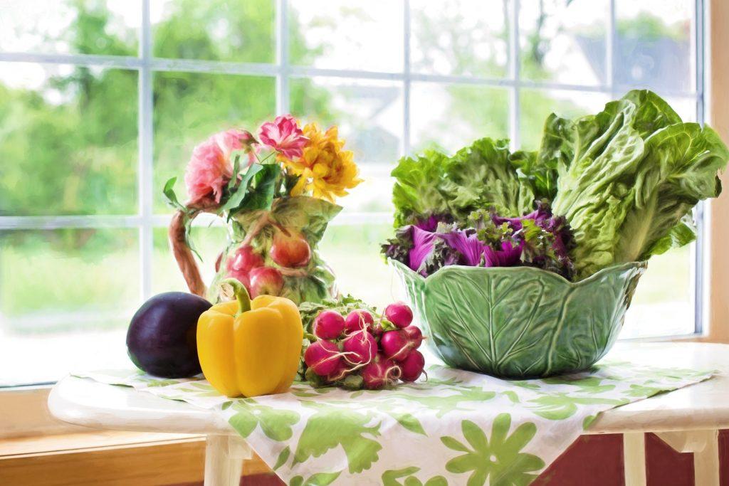 Eat healthy fresh food