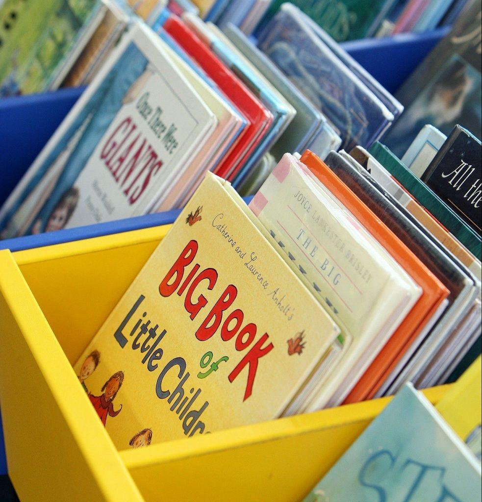 Children's book library