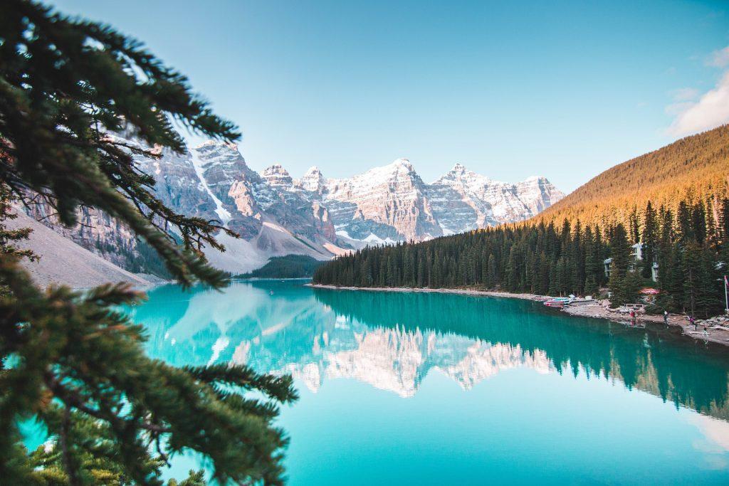 Alberta, lake Banff
