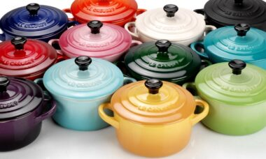 6 Cookware Pieces to Inject Color into your Kitchen