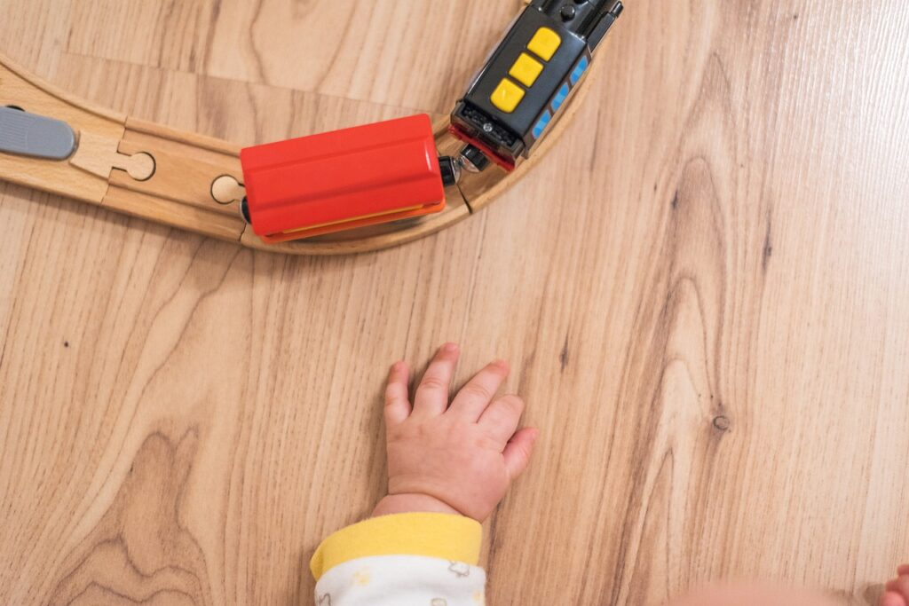 Wooden floors are safe