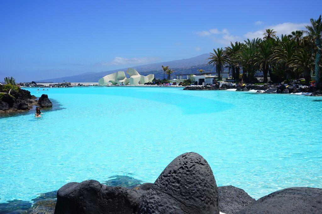Tenerife sea water pool